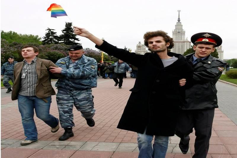 Discriminación en rusia hacia el colectivo homosexual
