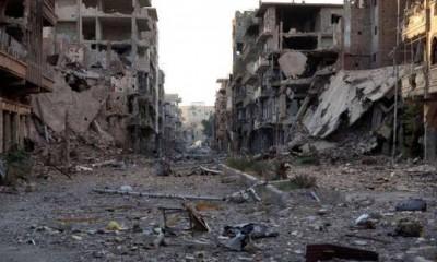 Devastación Siria