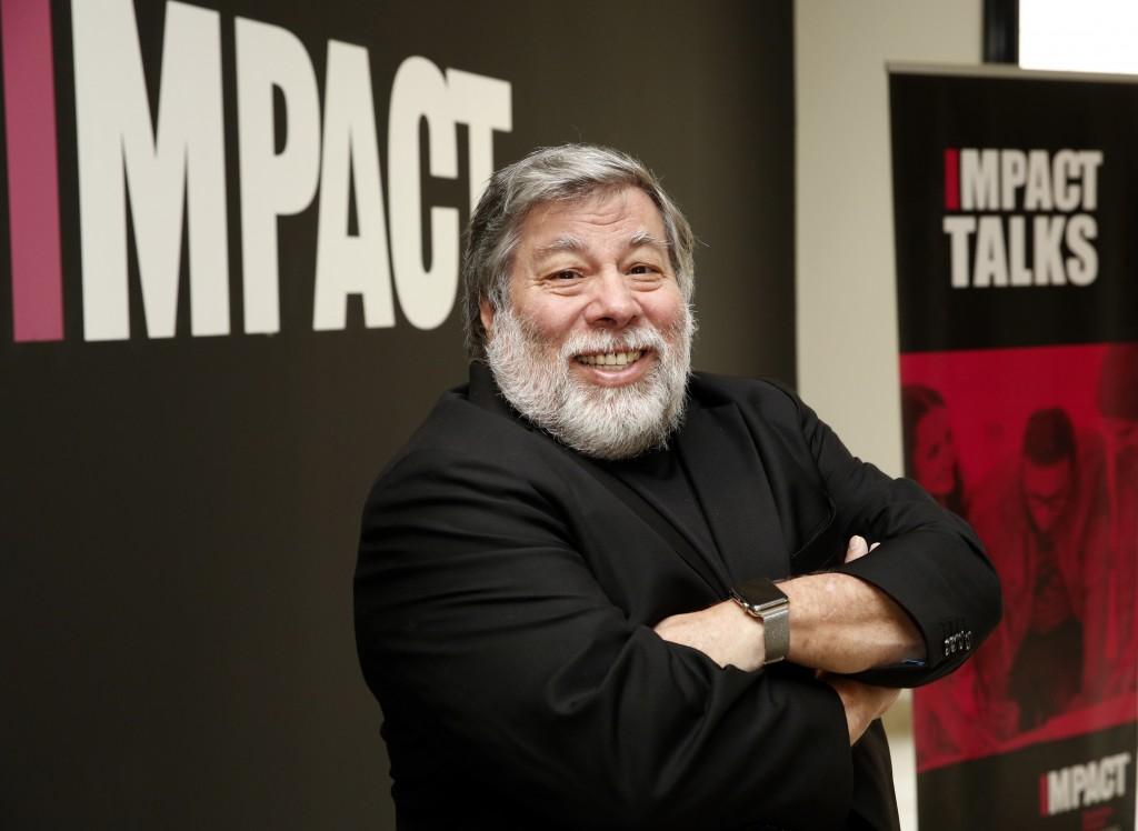 Stephen Wozniak en la imagen