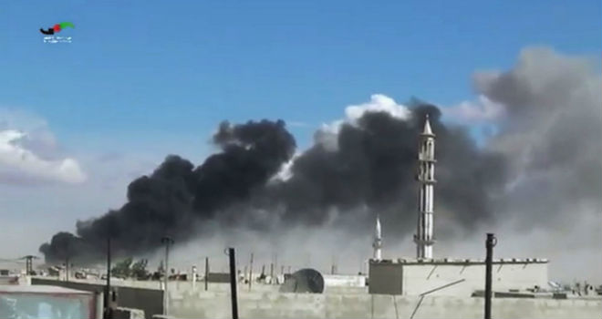 Ataques rusos a Siria