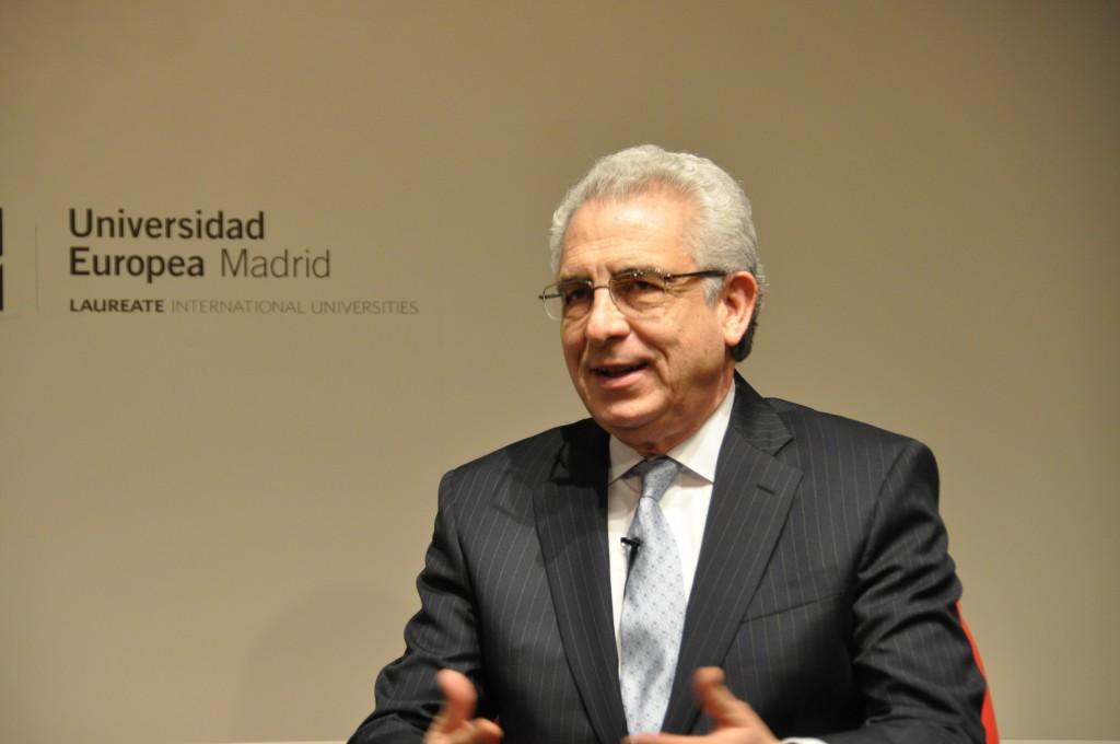 Ernesto Zedillo en la Universidad Europea de Madrid