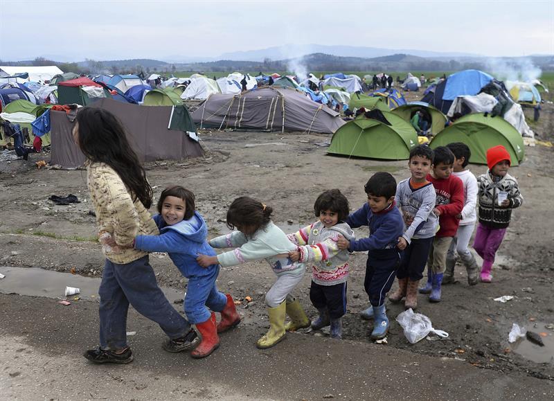 Refugiados Idomeni
