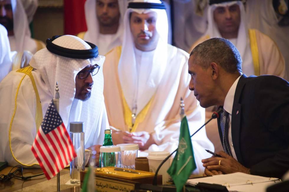 Obama y rey Salman / Jim Watson AFP