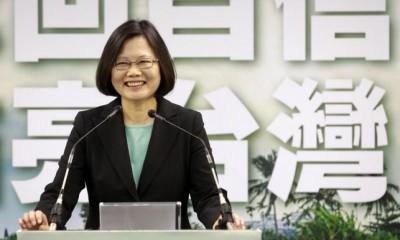 Foto: Tsai Ing-wen / Reuters.