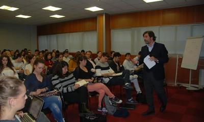 Sergio Navarro en la Universidad Europea