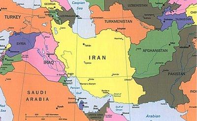 mapa iran iraq Siria afganistan