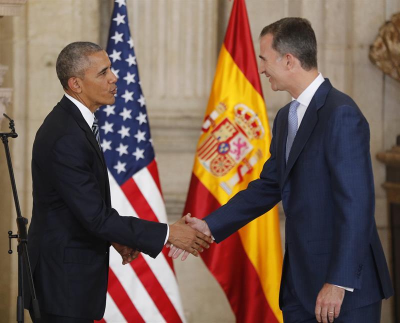 Felipe VI y Obama