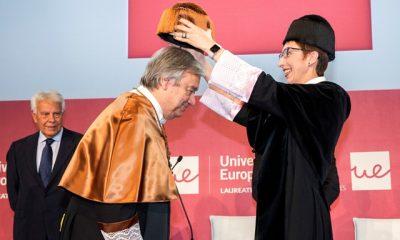 Antonio Guterres Honoris Causa por la Universidad Europea