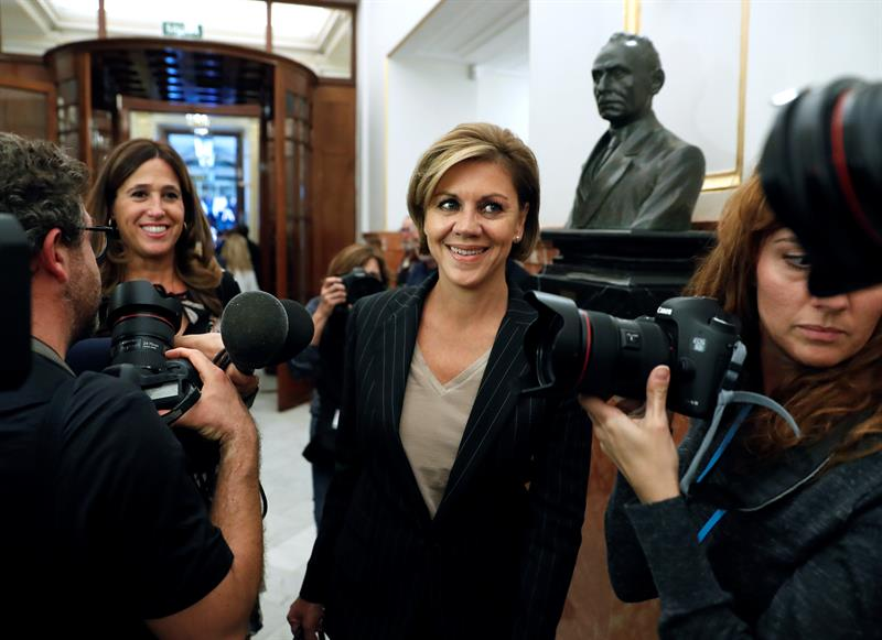 María Dolores de Cospedal, Ministra de Defensa