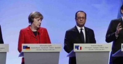 Rajoy, Merkel y Hollande1