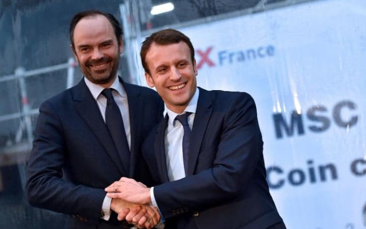 Macron y Phillipe