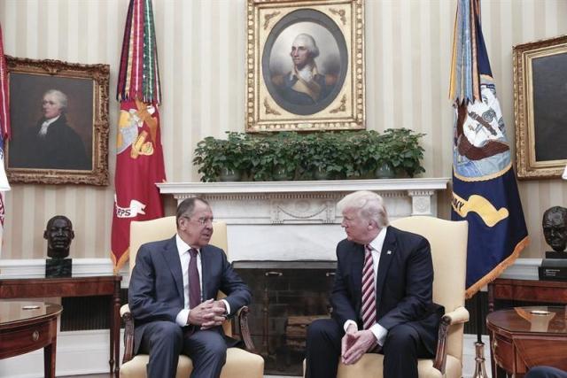 Trump y ministro ruso