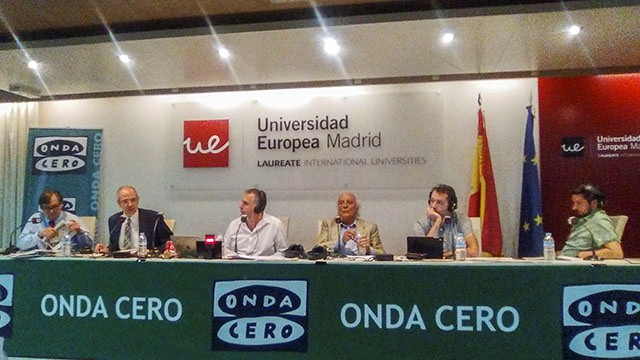 Onda Cero en la Universidad Europea