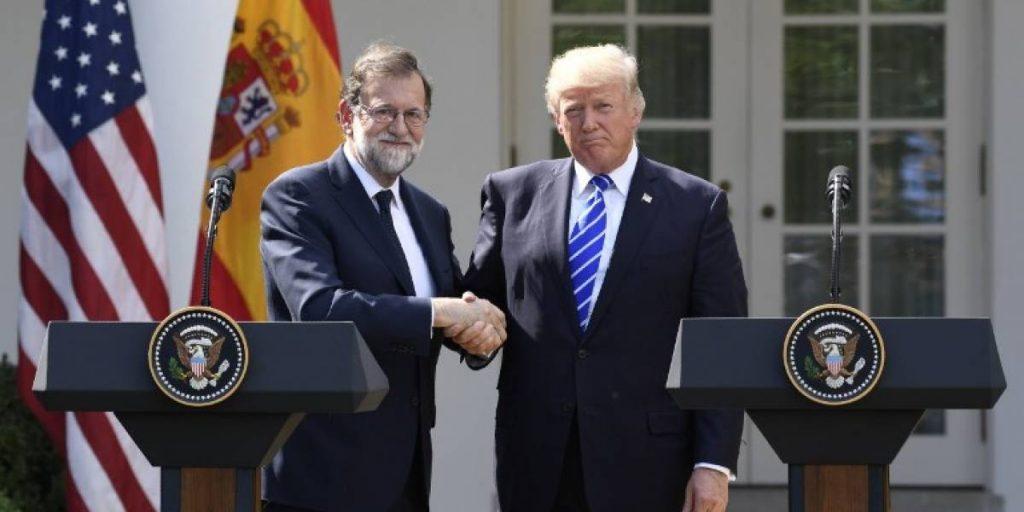 reunion Mariano Rajo y Donald Trump