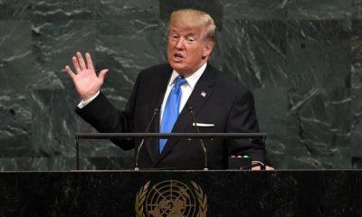 Donald Trump habla por primera vez como presidente de los Estados Unidos, en la Asamblea General de las Naciones Unidas. / BBC Mundo