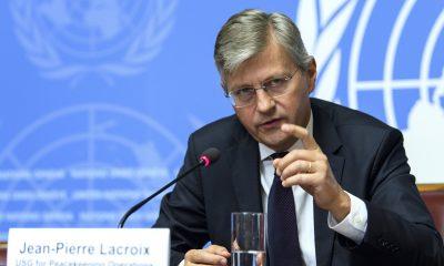El máximo responsable de operaciones de paz de la ONU, Jean-Pierre Lacroix. EFE/Archivo