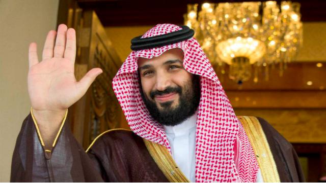 Mohamed Bin Salmán. Principe heredero. Foto: REUTERS
