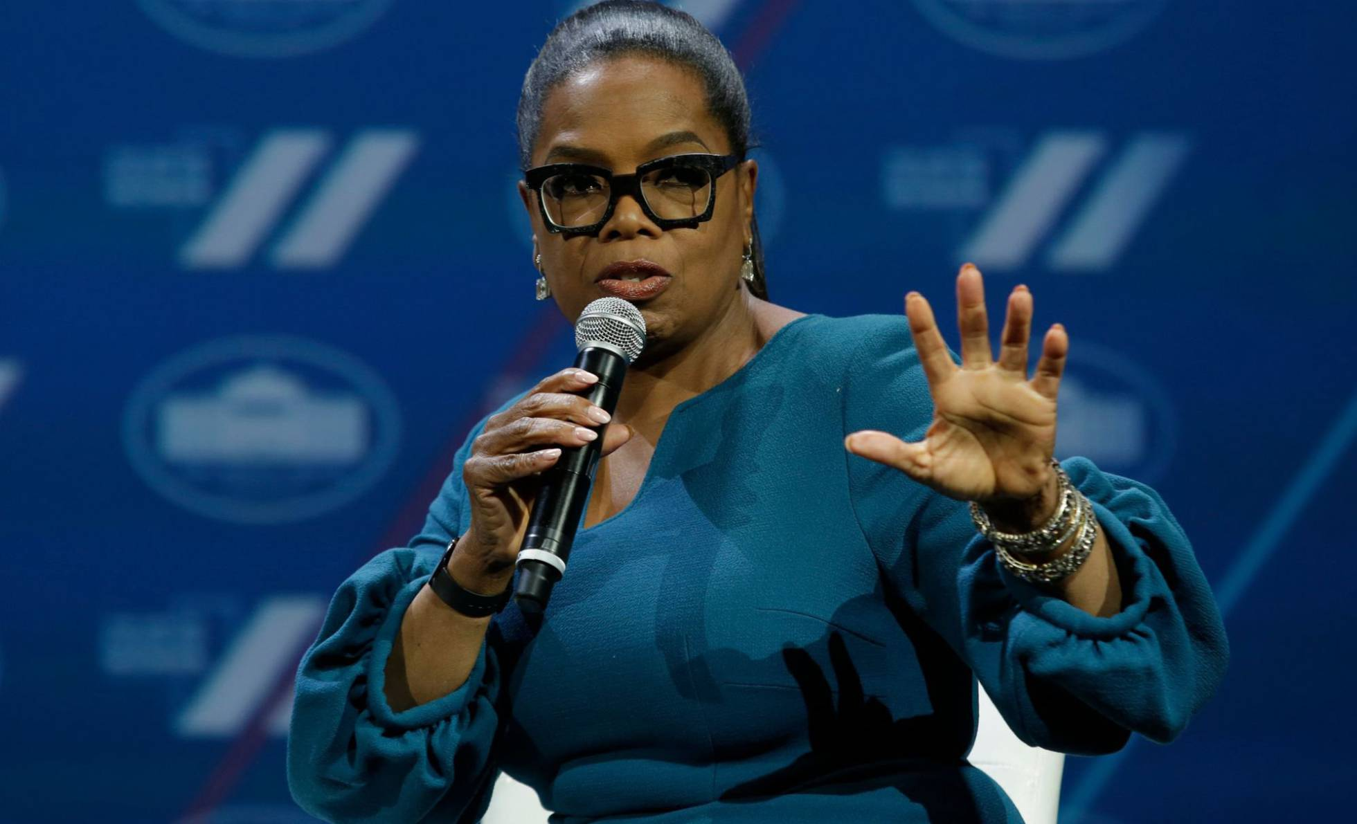 "Oprah Winfrey. Foto ""El Pais"""