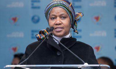 Mlambo-Ngcuka, de 62 años, ha luchado a lo largo de su vida por la igualdad de género y educación de las mujeres. Fuente: Time Magazine