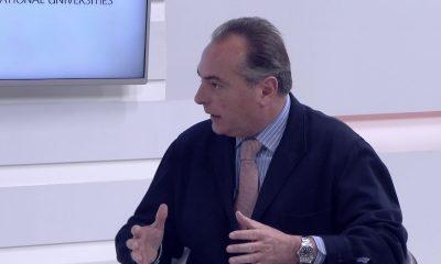 Entrevista Stanley Pain en el plató de Europea TV