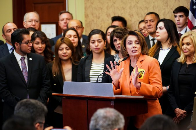 La representante Nancy Pelosi. Foto: The new York Times