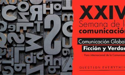 Cartel de la XXIV Semana de la Comunciación