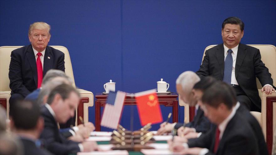 Cumbre económica EEUU-China. Fuente: HispanTV