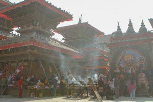 El Gobierno de Nepal se niega a incluir el valle de Katmandú en la lista de riesgo, por las consecuencias negativas que esto podría tener para el turismo, motor económico nacional. EL PAÍS - ÁNGEL L. MARTÍNEZ CANTERA