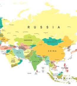 Fotolia - Dikobrazik. (2017). (n.d) [Mapa]. Recuperado de https://www.definicionabc.com/geografia/eurasia.php