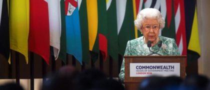 Reina Reino Unido Commonweatlh
